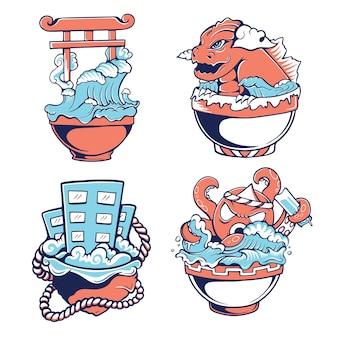 Tigela japonesa