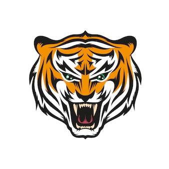 Tigre com sorriso