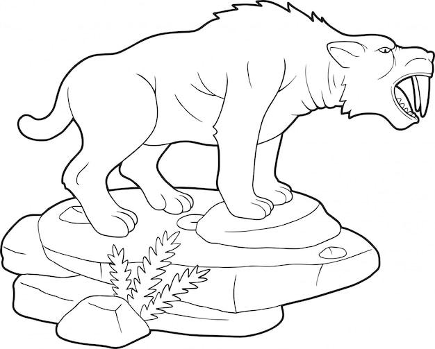 Tigre dente de sabre