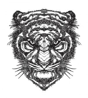 Tigre tatuagem