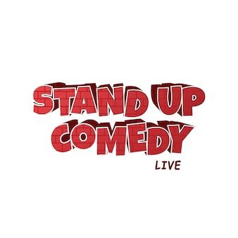 Tijolo vermelho stand up comedy