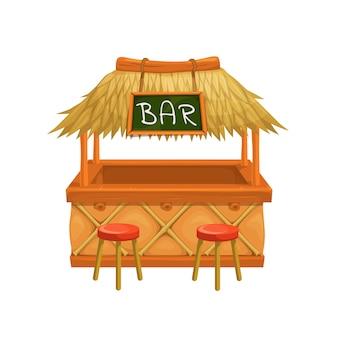 Tiki bar.