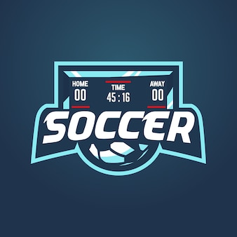 Time de logotipos de futebol