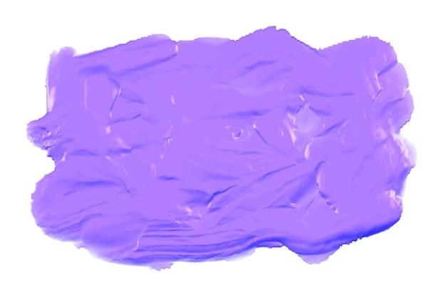 Tinta acrílica aquarela roxa espessa