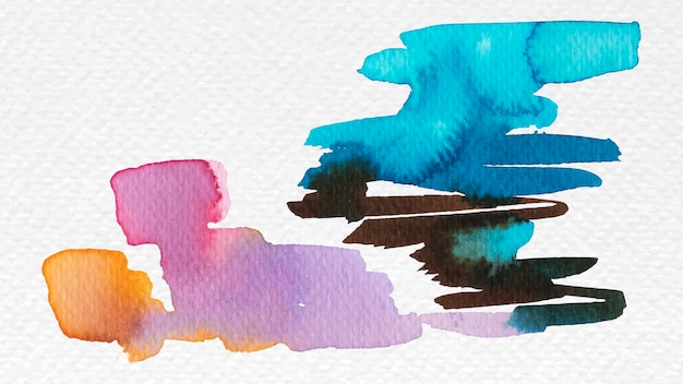 Tinta aquarela mista