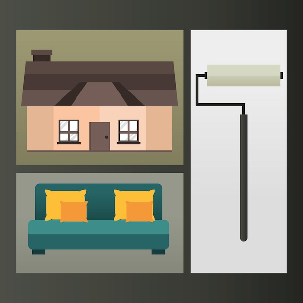 Tinta para reforma da casa