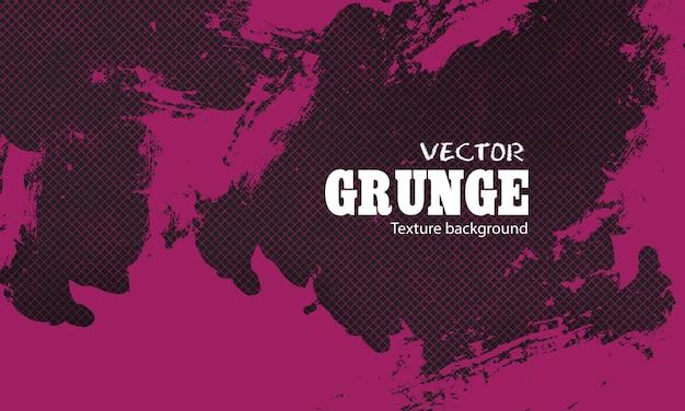 Tinta roxa com fundo de rede grunge
