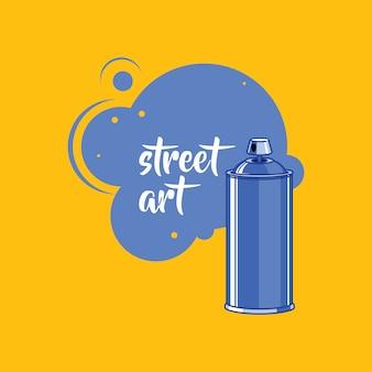 Tinta spray, lata de spray