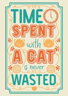 Tipografia de gato