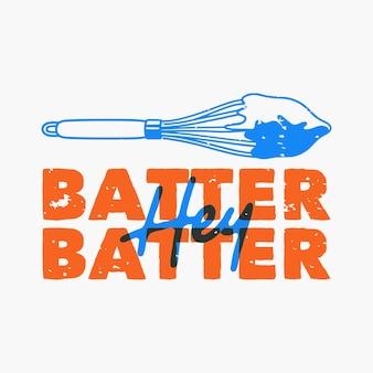 Tipografia de slogan vintage ei melhor, melhor para design de camisetas