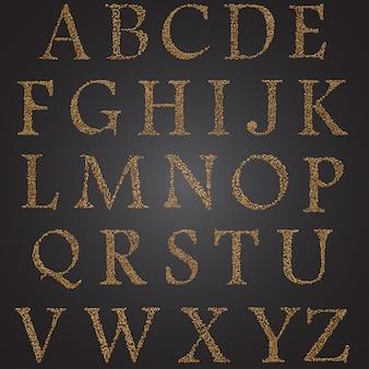 Tipografia elegante decorativa