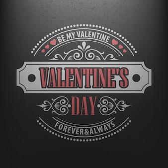 Tipografia postal feliz dia dos namorados na lousa.