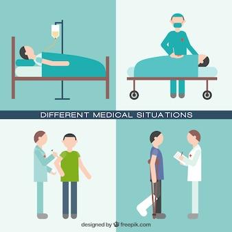 Tipos de situações médicas