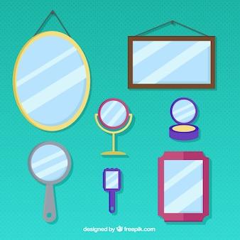 Tipos diferentes de espelhos