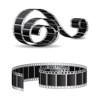 Tira de filme realista
