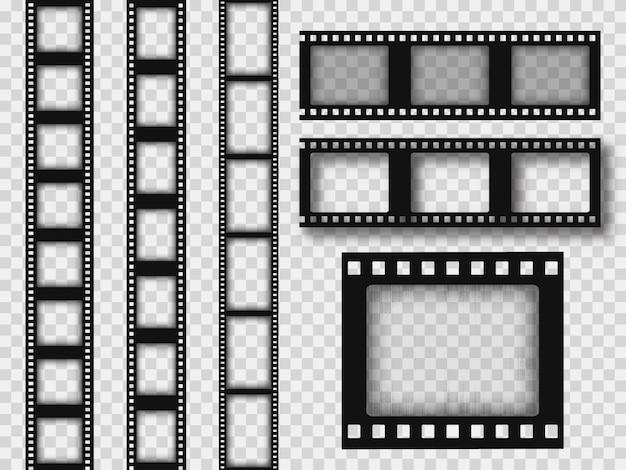 Tira de filme retrô de 35 mm.
