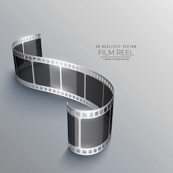 Tira do filme, fundo moderno