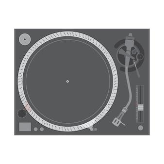 Toca-discos de vinil dj