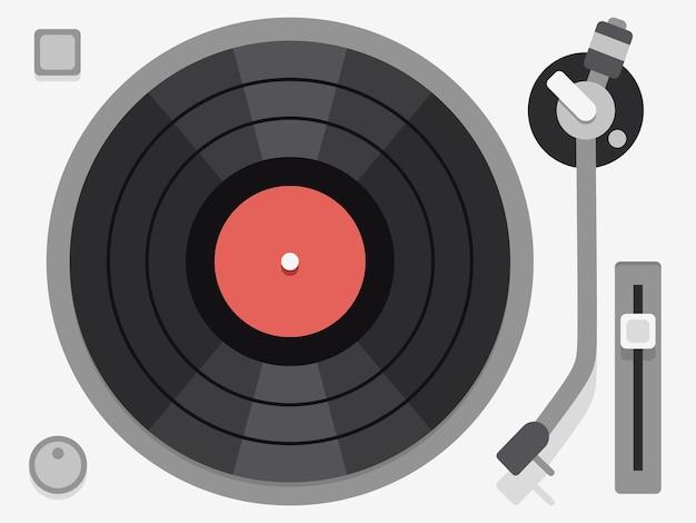 Toca-discos de vinil