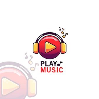 Tocar música logotipo modelo