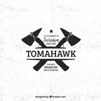 Tomahawk badge