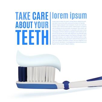 Tome cuidado com os dentes.