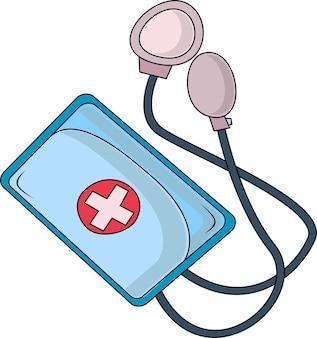 Tonômetro eletrônico médico com microscópio
