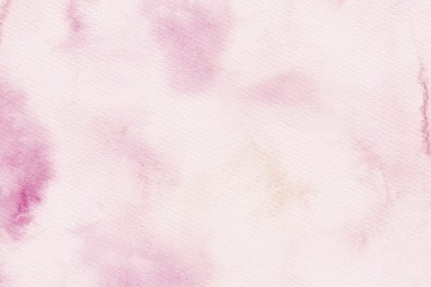 Tons de aquarela rosa textura de fundo com espaço de cópia