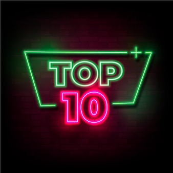 Top 10 neon