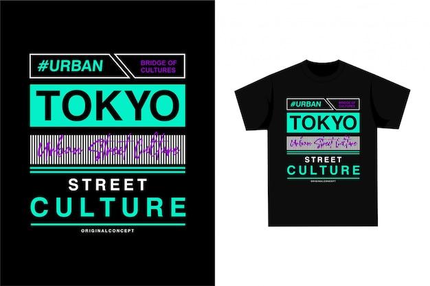 Tóquio - camiseta gráfica