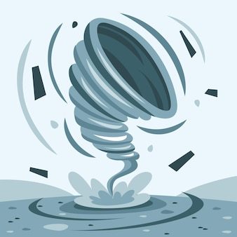 Tornado de catástrofe natural