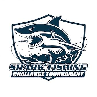 Torneio de desafio de pesca de tubarão