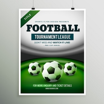 Torneio de futebol design de jogo liga insecto