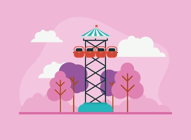 Torre de queda livre ou torre de queda