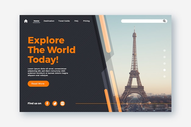 Torre eiffel explorar página inicial