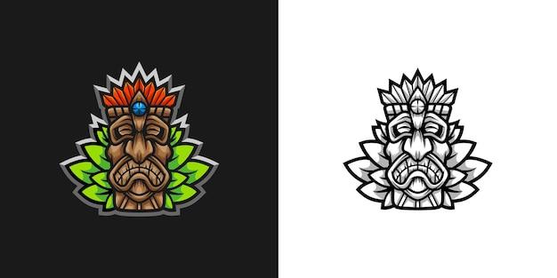 Totem mascot design