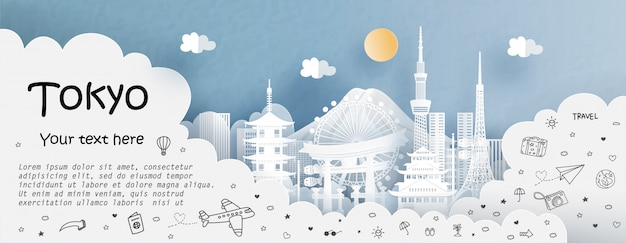 Tour e viajar com viagens para tóquio