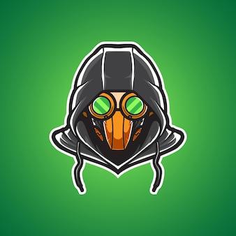 Toxic mask master sport logo