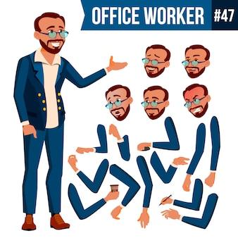 Trabalhador de escritório