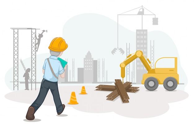 Trabalhador e trabalhista para o dia do trabalho