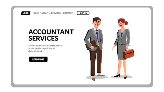 Trabalhadores de serviços de contabilidade empresários