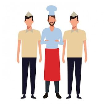 Trabalho de chef e ocupação
