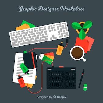 Trabalho de designer gráfico