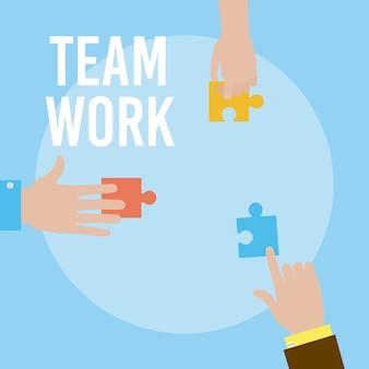 Trabalho em equipe e suporte