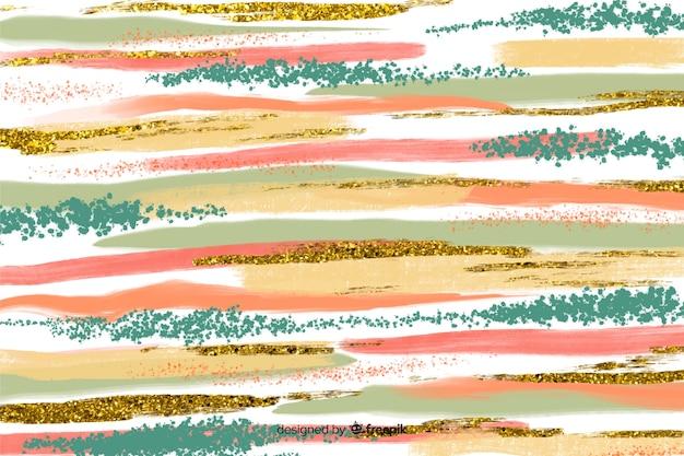 Traçados de pincel abstraem base