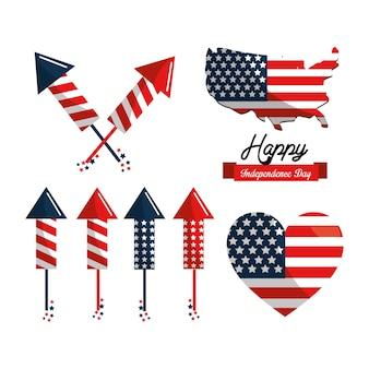 Tradição do dia da independência dos estados unidos