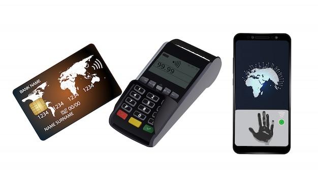 Transação com cartão de crédito