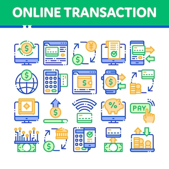 Transações online