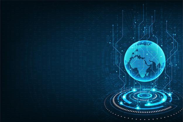 Transferência de dados rápida e global.