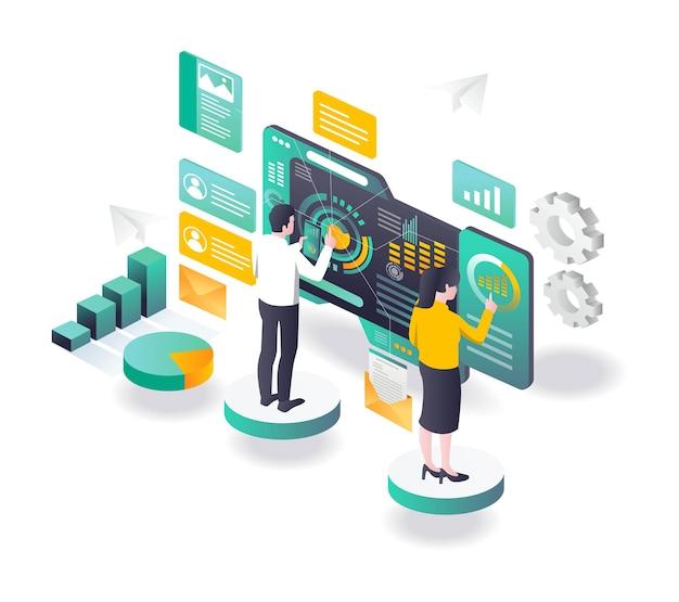 Transformação da estratégia de vendas de marketing digital e otimização de seo